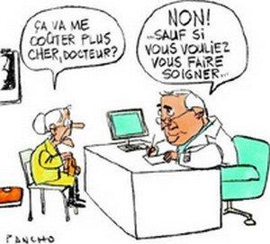 Dépassements d'honoraires, forte hausse en Bretagne (LT) dans Santé assurance_maladie