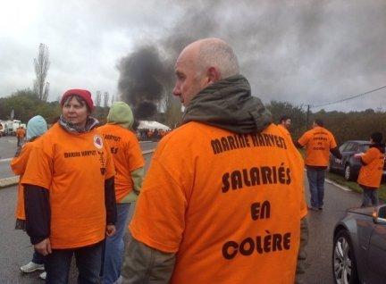 Les salariés de Marine Harvest continuent leur grève illimitée (fr3) dans Luttes ouvrières mh