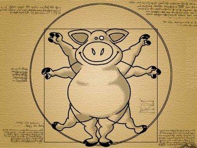 Da_Vinci_cochon_humour
